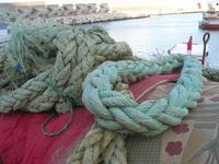 al porto - corde - 17 marzo 2011  - Castellammare del golfo (968 clic)