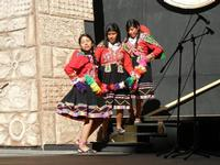 Spettacolo multietnico UNA SOLA FAMIGLIA UMANA nel cortile del Collegio dei Gesuiti - 19 giugno 2011  - Sciacca (1203 clic)