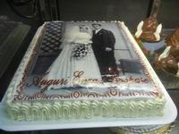 torta anniversario matrimonio - Enny - 12 novembre 2011  - Alcamo (733 clic)