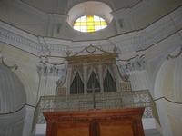 interno chiesa - organo - 4 dicembre 2010 CALTAGIRONE LIDIA NAVARRA