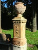 Villa Patti - particolare del giardino - 5 dicembre 2010  - Caltagirone (1431 clic)