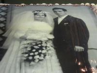 torta anniversario matrimonio - particolare - Enny - 12 novembre 2011  - Alcamo (847 clic)