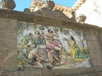 maiolicato - La Vendemmia di Pino Romano - 1962 - 5 dicembre 2010 CALTAGIRONE LIDIA NAVARRA