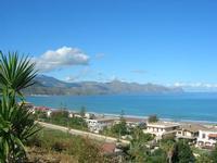 Zona Plaja - panorama del Golfo di Castellammare - 2 novembre 2010  - Alcamo marina (1129 clic)