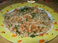 busiate con zucchine e gamberi - La Lanterna - 21 giugno 2010  - Alcamo marina (3558 clic)