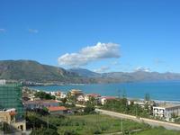 Zona Plaja - panorama del Golfo di Castellammare - 2 novembre 2010  - Alcamo marina (1150 clic)