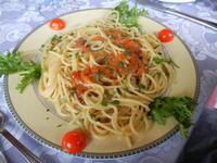 spaghetti ai ricci - Turiddu - 22 maggio 2011  - Terrasini (2475 clic)