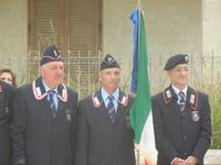 Cerimonia, presenziata dal Sindaco e Mons. Ludovico Puma, per la commemorazione dei due Carabinieri (appuntato Salvatore Falcetta e carabiniere Carmine Apuzzo) uccisi all'interno della piccola caserma il 27 gennaio 1976 - 2 novembre 2011  - Alcamo marina (1138 clic)