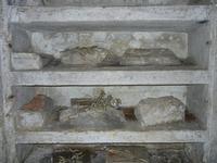 Chiesa SS. Matteo e Mattia Apostoli o Chiesa di San Matteo al Cassaro - interno - Cripta strutturata