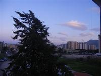 palazzi e nuvole al crepuscolo - 5 dicembre 2011 PALERMO LIDIA NAVARRA