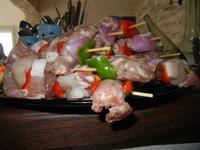 spiedini di carne - 28 agosto 2011  - Alcamo marina (1061 clic)