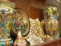 ceramiche in vetrina - 7 agosto 2010  - Erice (3061 clic)
