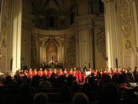 GOSPEL FOR CHRISTMAS dell'Associazione The Flight con il coro GOSPEL PROJECT - Chiesa del Collegio - 4 gennaio 2011  - Alcamo (985 clic)