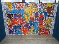 TRILOGIA D'AUTORE - TUTTO MONDO - omaggio a Keith Haring (1958 - 1990) - a cura del prof. Giuseppe Monticciolo ed alcuni suoi alunni - I.C. G. Pascoli - 10 giugno 2011  - Castellammare del golfo (782 clic)
