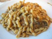 busiate con finocchi e sarde - la Cambusa - 21 febbraio 2010   - Castellammare del golfo (5506 clic)