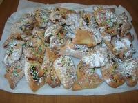 dolci di Natale, cosi duci o cudduredde della sig.ra Antonina Asaro - I.C. Pascoli - 10 gennaio 2011  - Castellammare del golfo (4607 clic)