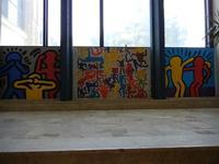 TRILOGIA D'AUTORE - omaggio a Keith Haring (1958 - 1990) - a cura del prof. Giuseppe Monticciolo ed alcuni suoi alunni - I.C. G. Pascoli - 10 giugno 2011  - Castellammare del golfo (726 clic)