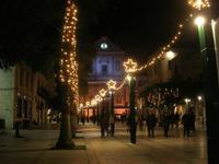 luci natalizie in Piazza Ciullo - 4 gennaio 2011  - Alcamo (1023 clic)