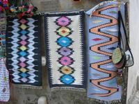 tappeti dell'artigianato locale - 7 agosto 2010  - Erice (1884 clic)