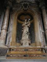 Chiesa SS. Matteo e Mattia Apostoli o Chiesa di San Matteo al Cassaro - interno: Madonna di impronta