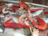 pesci in vetrina - La Cambusa - 20 marzo 2011  - Castellammare del golfo (1394 clic)
