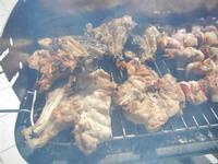 pollo e spiedini di carne sulla brace - 28 agosto 2011  - Alcamo marina (959 clic)