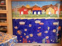 pannello di Nino Parrucca a casa di Miriam - 22 maggio 2011  - Bagheria (1066 clic)