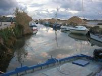 Riserva Naturale Orientata Isole dello Stagnone - imbarcadero storico per l'Isola di Mozia - Saline Infersa - 23 gennaio 2011  - Marsala (1019 clic)