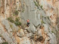 free climbing - falesia all'Isulidda - 1 maggio 2011  - Macari (1412 clic)