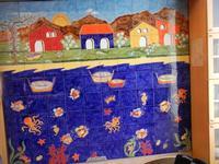 pannello di Nino Parrucca a casa di Miriam - 22 maggio 2011  - Bagheria (1038 clic)