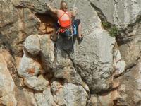 free climbing - falesia all'Isulidda - 1 maggio 2011  - Macari (1403 clic)