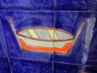 pannello di Nino Parrucca a casa di Miriam - particolare - 22 maggio 2011  - Bagheria (999 clic)