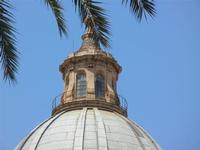 la Cattedrale Metropolitana della Santa Vergine Maria Assunta - cupola - particolare - 8 agosto 2011