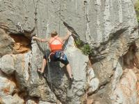 free climbing - falesia all'Isulidda - 1 maggio 2011  - Macari (1488 clic)