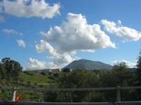 panorama dall'autostrada A29 Mazara/Palermo fino al Monte Bonifato - 11 gennaio 2011 ALCAMO LIDIA NA