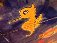 pannello di Nino Parrucca a casa di Miriam - particolare - 22 maggio 2011  - Bagheria (1023 clic)