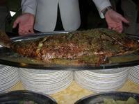 pesce al forno - Baglio Strafalcello - 22 giugno 2010  - Castellammare del golfo (3443 clic)
