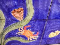 pannello di Nino Parrucca a casa di Miriam - particolare - 22 maggio 2011  - Bagheria (1257 clic)