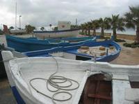 barche in secca sul lungomare - 14 febbraio 2010   - Cornino (2399 clic)