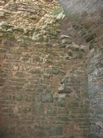 interno Torre Saracena - Dongione Ventimiglia - sulla vetta del Monte Bonifato - 25 luglio 2010   - Alcamo (2060 clic)