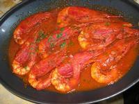 gamberoni in umido - La Cambusa - 20 marzo 2011  - Castellammare del golfo (1291 clic)