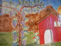 pannello di Nino Parrucca a casa di Miriam - particolare - 22 maggio 2011  - Bagheria (1414 clic)