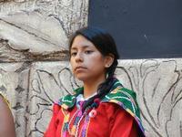 Spettacolo multietnico UNA SOLA FAMIGLIA UMANA nel cortile del Collegio dei Gesuiti - 19 giugno 2011  - Sciacca (1128 clic)