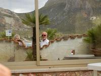noi ed il Monte Cofano - riflessi - 12 giugno 2011  - Cornino (1306 clic)