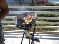 spiedini di carne sulla brace - 28 agosto 2011  - Alcamo marina (945 clic)