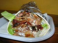 Kebab con piadina - La Couscousera - 29 agosto 2010  - San vito lo capo (6472 clic)