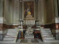 la Cattedrale Metropolitana della Santa Vergine Maria Assunta - interno: fonte battesimale con le fi