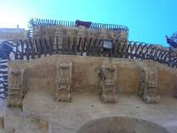 alcuni dei balconi (simbolo del barocco netino) del Palazzo dei Principi di Villadorata - Via Nicolaci - 16 maggio 2010   - Noto (2207 clic)