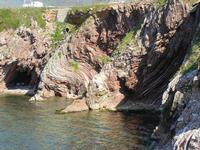 falesia e grotta  - 8 maggio 2011 TERRASINI LIDIA NAVARRA