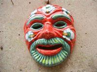 maschera in ceramica - 5 giugno 2011  - Erice (897 clic)